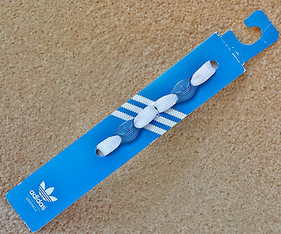ADIDAS Originals Accessories Logo Shoe Laces Jewels Charms Trefoil Footwear BLUE