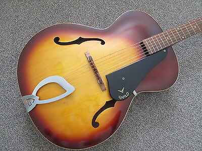 Guild A50 archtop - 1962 USA made - fantastic condition.