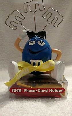 M&M's Blue Photo/Card Holder