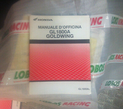 Manuale D'officina Supplemento Originale Honda Gl 1800A Goldwing 2002