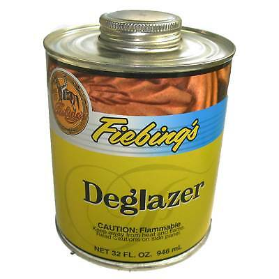 Fiebing's Deglazer 32 oz (946 mL) Leather Stripper and Preparer