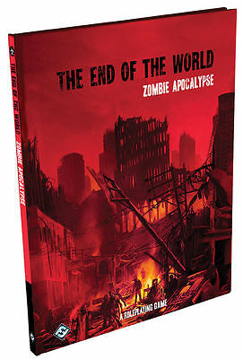 Fantasy Flight - The End of the World Zombie Apocalypse RPG - Horror Roleplaying