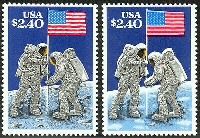 2419c - $2.40 - Lithographed Black Omitted - Never Hinged