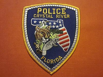 Collectible Florida Police Patch Crystal River New