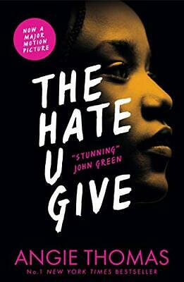 The Hate U Give by Angie Thomas Book The Cheap Fast Free Post