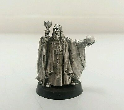 games workshop Lord of the rings saruman with palantir