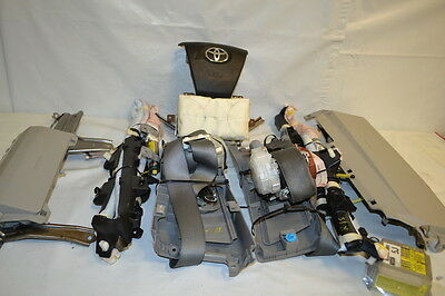 Fits Toyota Camry 2012-2015 Oem Complete Airbag Set