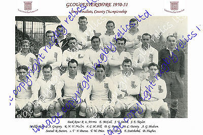 Gloucestershire County Championship Semi-Finalists 1950-51 Rugby Team Photograph