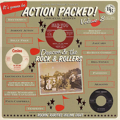 VA.ACTION PACKED VOL 8 - FANTASTIC RARE ROCKIN' 50/60s  LP