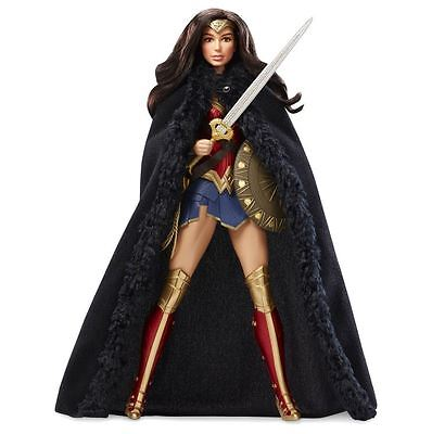 Barbie 2017 Collector Wonder Woman Princess of the Amazons Doll, DC Comics, New