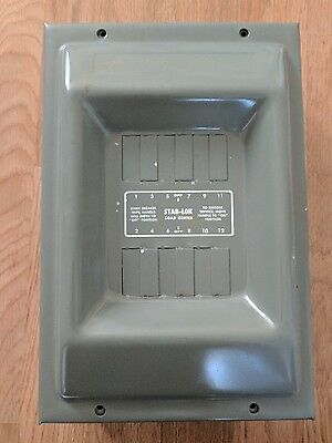 Federal Pacific Electric Co. STAB-LOK Load Center Part No. Y34922X PanelBoard