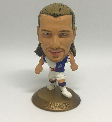 Corinthian Microstars Robbie Savage MC4355 Gold Base Collectable Blackburn