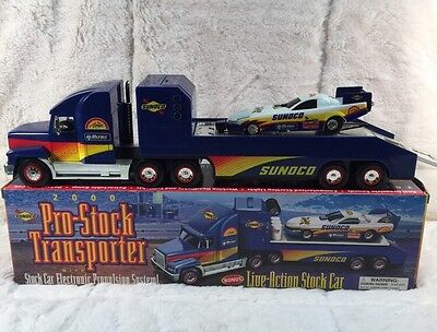 SUNOCO Pro-Stock Transporter With Stock Car Electronic Propulsion System 2000