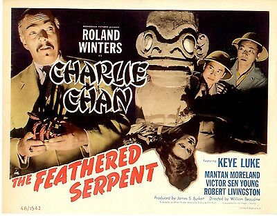 Feathered Serpent 1948  Lobby Card Set