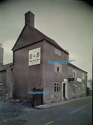 Orig Negative Chequers Inn ULLESTHORPE NR Rugby Lutterworth Leicester Hinckley