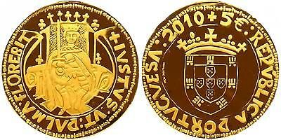 Portugal 2010: Historical Coins King John II. PF Gold (403)