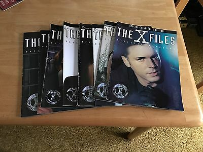 LOT of 8 Magazines - The X-Files Fan Club Official Magazines