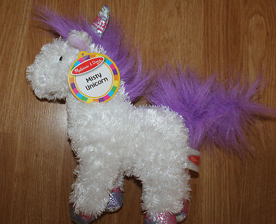 NWT Melissa & Doug  Misty UNICORN Plush Stuffed Animal Toy Mythical Horse new
