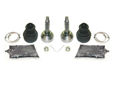 2003-2004 Polaris Sportsman 600 4x4 ATV Pair of Front Axle Outer CV Joint Kits