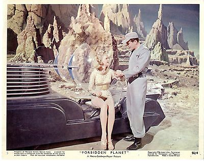 Forbidden Planet Color 8 X 10  Original Color Still Card 5