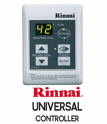 Rinnai Universal Water Controller including cable - New in Boxes - Free Postage