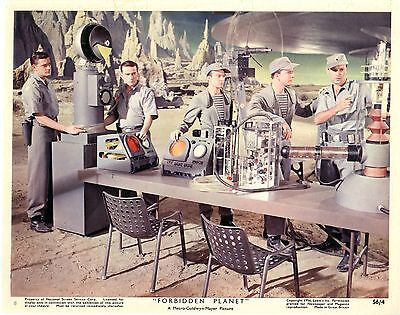 Forbidden Planet Color 8 X 10  Original Color Still Card 8