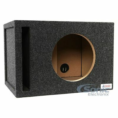 "Atrend 12W7SV 12"" Vented/Ported Subwoofer Enclosure Box for JL Audio 12W7 Sub"