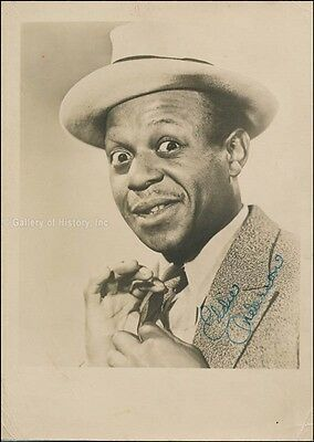 """Eddie """"Rochester"""" Anderson - Photograph Signed"""