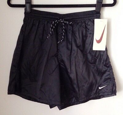 vintage nike white tag satin shorts youth size XL deadstock NWT