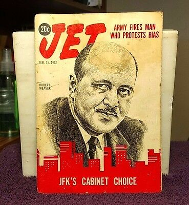 JET ~February 15 1962 ARMY FIRES MAN WHO PROTESTS BIAS Vol. 21 No. 17