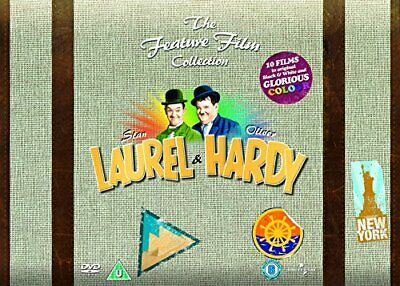 Laurel and Hardy - The Feature Film Collection [DVD] [1926] - DVD  JYVG The
