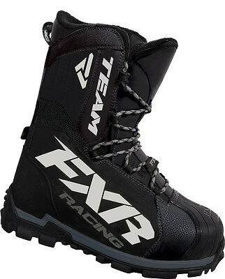 2017 FXR Racing Team Core Winter Snowmobile Snow Boots Size Mens 14