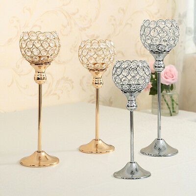 Crystal Candle Holder Stand   Lantern Centerpieces Wedding Decoration