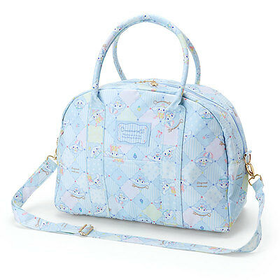 Sanrio Cinnamoroll Laminated Boston Bag Kawaii Cute F/S NEW