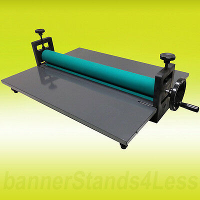 "25.5"" Laminating Manual Mount Machine Cold Photo Vinyl Film Laminator New (25-L)"