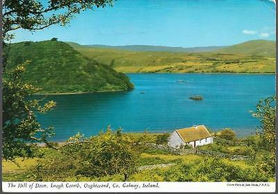 Oughterard, Co. Galway - Hill of Doon, Lough Corrib - John Hinde postcard