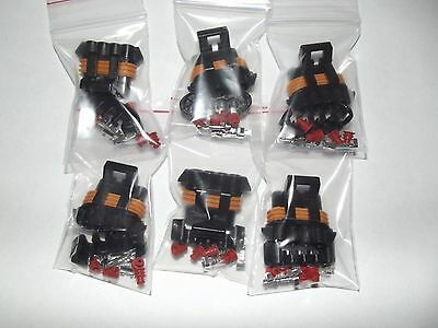 Set of 6 Ls1 coil pack connector plug (female)
