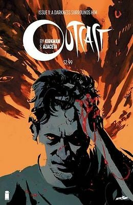 Outcast #1 Issue First Print By Kirkman Image Comics
