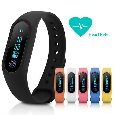 M2 Plus Smart Bluetooth Bracelet Sport Fitness Watch Tracker For iOS Android WD