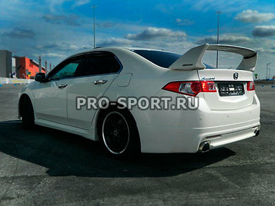 Mugen Honda Accord 8 2008-2012, ABS rear trunk spoiler TSX 2008, 2009, 2010