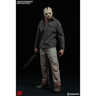 "Friday the 13th Jason Voorhees 12"" 1:6 Scale Action Figure Sideshow Collectibles"