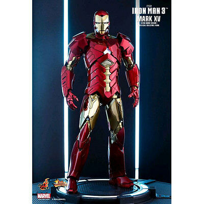 "Iron Man 3 - Mark XV Retro Armor 12"" 1:6 Scale Action Figure NEW Hot Toys"