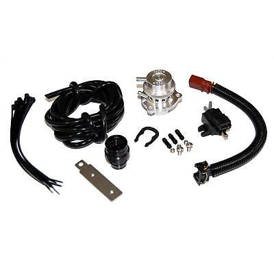 Forge Blow Off Dump Valve Fitting Kit Black For Golf MK5 GTI/ED30 / MK6 GTI/ED35
