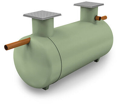 CLEARWATER LOW PROFILE SEPTIC TANK 3800ltrs & POLYBED SOAKAWAY KIT