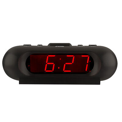 Kwanwa Super Loud 110db Alarm Clock with Large LED Display, Operated by Battery