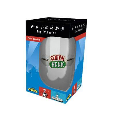 Official Friends Central Perk Pint Glass - Boxed Coffee Shop Merchandise