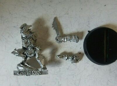 games workshop Lord of the rings metal goblin king durbuz