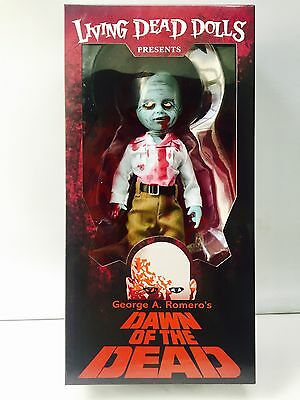"LIVING DEAD DOLLS DAWN OF THE DEAD FLY BOY ZOMBIE FIGURE MEZCO 10"" / 25cm"