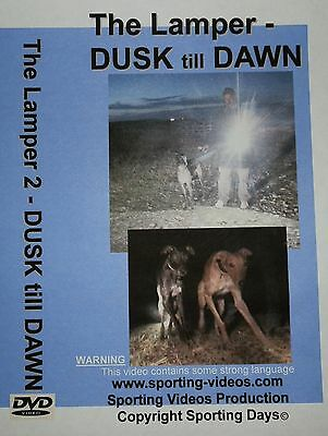 DUSK till DAWN - DVD -THE LAMPER- 2 rabbit,hare,fox,lurchers,coursing,greyhounds