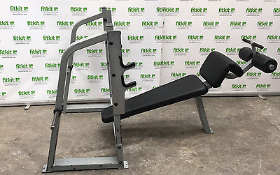 Precor Icarian Decline Olympic Bench - Commercial Gym Equipment